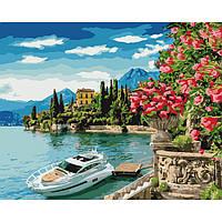 Картина по номерам Краски моря ТМ Идейка 40 х 50 см КНО2746