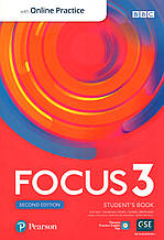Focus 2nd Ed 3 Student's book+ online work book