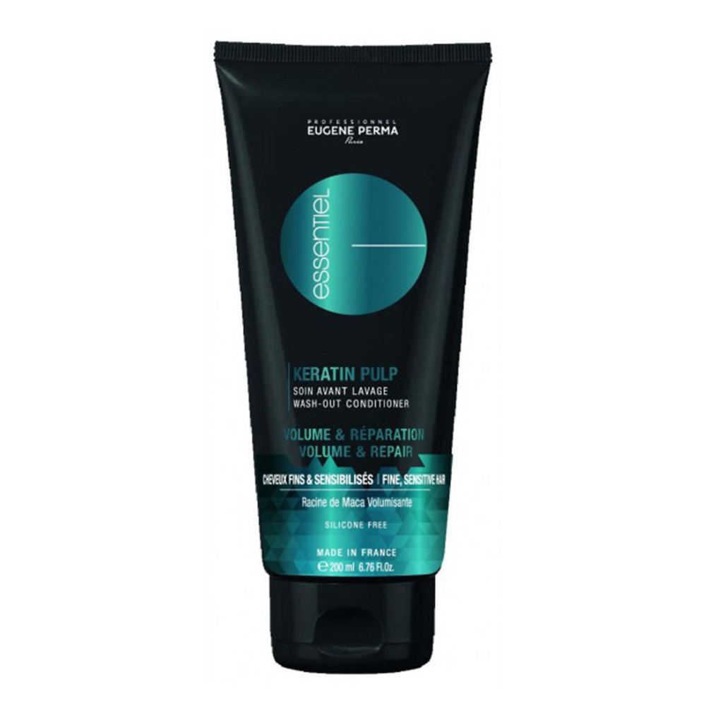 Кондиционер для объема тонких и поврежденных волос Eugene Perma Essentiel Keratin Pulp Control Volume&Repair