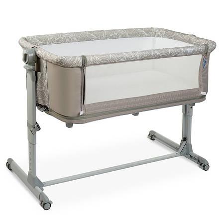 Кроватка-манеж  ME 1067 SLEEP&PLAY Beige, фото 2
