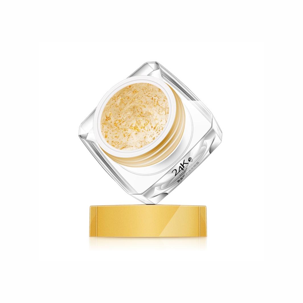 Омолодуючий крем-гель для кожи вокруг глаз с частицами золота OneSpring 24k Eye Cream