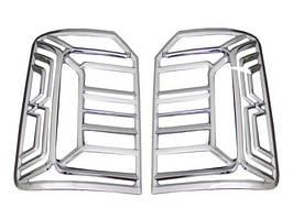 Накладки на стопи (2 шт., пласт) Volkswagen Caddy 2015↗ рр.