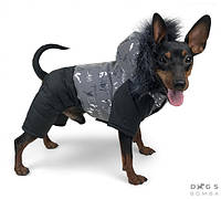 Зимний комбинезон для собак Dogs Bomba A-61/5 из светоотражающей ткани