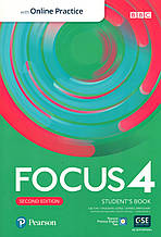 Focus 2nd Ed 4 Student's book + online work book