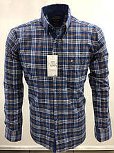 Сорочка чоловіча, прямого покрою, з довгим рукавом Birindelli FLANEL-01-1574 100% бавовна L(Р)