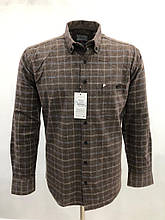Сорочка чоловіча, прямого покрою, з довгим рукавом Birindelli FLANEL-01-1558 100% бавовна M(Р)
