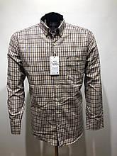 Сорочка чоловіча, прямого покрою, з довгим рукавом Birindelli FLANEL-01-1704 100% бавовна L(Р)