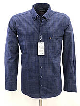 Сорочка чоловіча, прямого покрою, з довгим рукавом Birindelli FLANEL-01-1544 100% бавовна XXL(Р)
