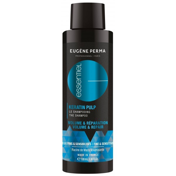 Шампунь для тонкого і пошкодженого волосся Eugene Perma Essentiel Keratin Pulp Volume Control&Repair