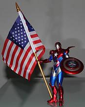 Фігурка Marvel Залізний Патріот з щитом і прапором, 14 см - Iron Patriot