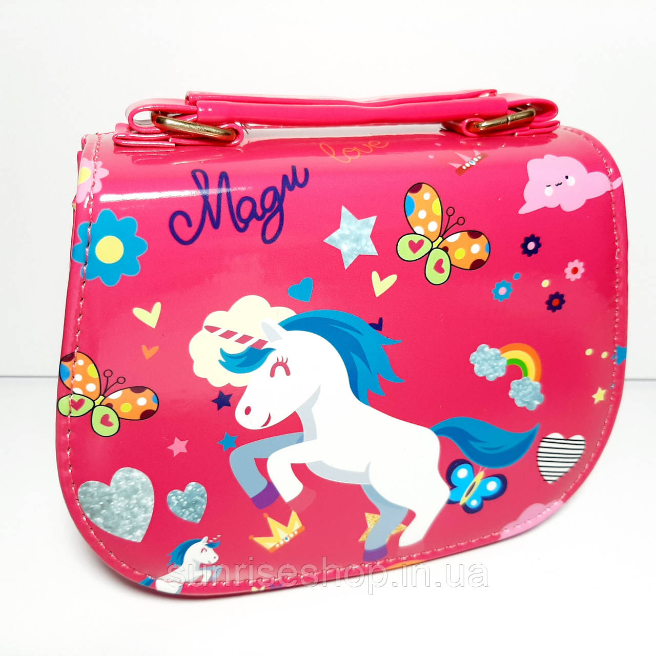Детская сумочка лаковая