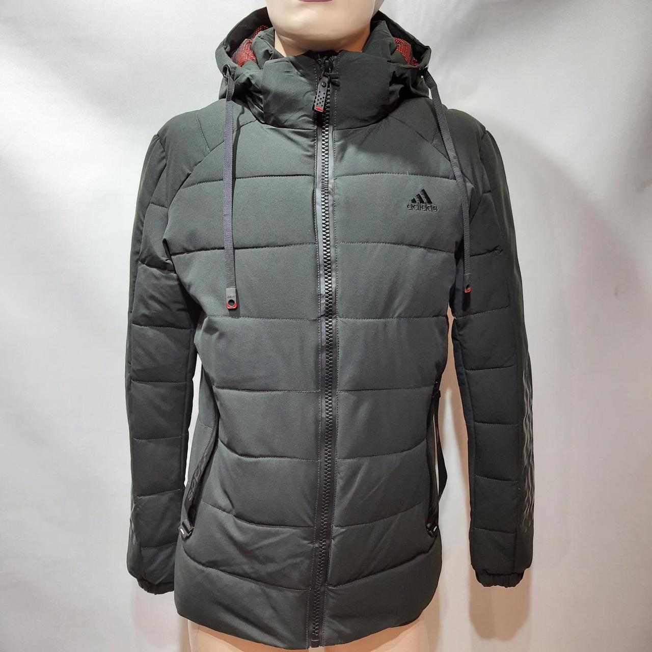 56 р. Зимняя мужская куртка тепла на флисе последняя осталась