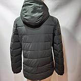 56 р. Зимняя мужская куртка тепла на флисе последняя осталась, фото 3