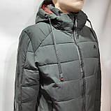 56 р. Зимняя мужская куртка тепла на флисе последняя осталась, фото 9