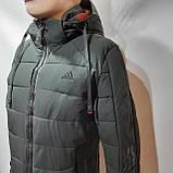 56 р. Зимняя мужская куртка тепла на флисе последняя осталась, фото 5