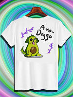 "Футболка с принтом ""Avo-Doggo"" Push IT"