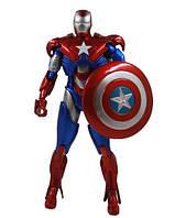 Фигурка Marvel Железный Патриот с щитом и флагом, 14 см- Iron Patriot