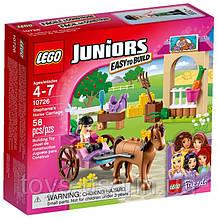 Lego Juniors Лошадь и карета Стефани 10726