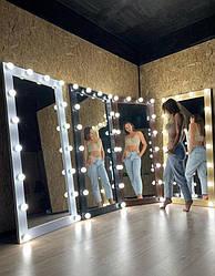Зеркало для примерочной с подсветкой