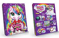Игровой набор для девочек Pony Land 7 в 1 детский, развивающая настольная игра подарочный творчества