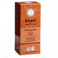 Краска для волос Nussbraun Натуральный каштановый Khadi