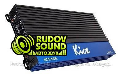 Kicx AP 4.120AB усилитель 4-х канальный 120w 4 Ом / 150w 2 Ом