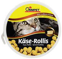 Витамины для кошек Gimpet Käse-Rollis с маскарпоне и биотином, 40г