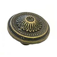 Ручка круглая 24х20мм античная бронза