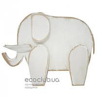 Слоник белый Handmade