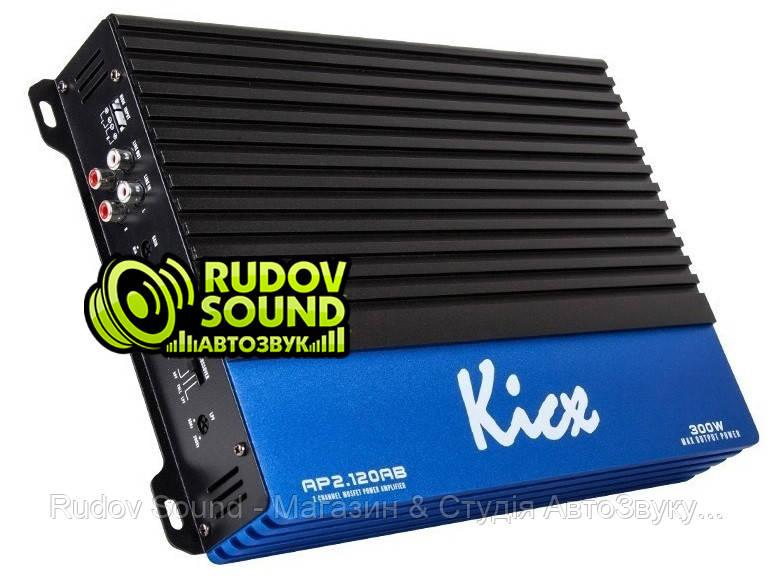 Kicx AP 2.120AB усилитель 2-х канальный 120w 4 Ом / 150w 2 Ом