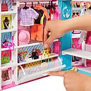 Барби Гардеробная комната 30 предметов Barbie Dream Closet with 30+ Pieces GPM43, фото 4