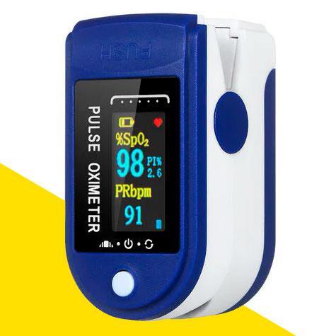 Пульсометр на палец (пульсоксиметр), измерение кислорода в крови AB-88
