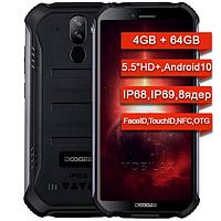 Противоударный телефон Doogee S40 PRO 4/64Gb 8 ядер IP68,69! NFC Android 10 китайский телефон качественный