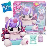 Игрушка на русском языке интерактивная Малышка пони принцесса Фларри Харт My Little Pony Baby Flurry Heart