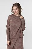 Джемпер нарядный, сдержанный и комфортный одновременно, разные цвета, р.One Size, код 2972М, фото 2