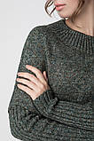 Джемпер нарядный, сдержанный и комфортный одновременно, разные цвета, р.One Size, код 2972М, фото 8