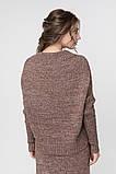 Джемпер нарядный, сдержанный и комфортный одновременно, разные цвета, р.One Size, код 2972М, фото 5