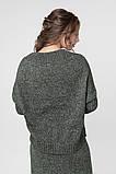 Джемпер нарядный, сдержанный и комфортный одновременно, разные цвета, р.One Size, код 2972М, фото 9