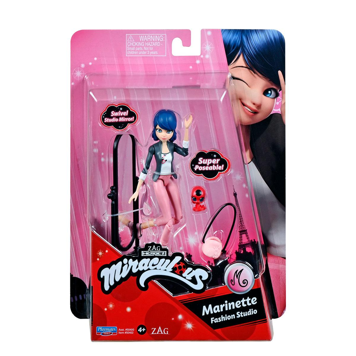 Маленькая Кукла Леди Баг и Супер-Кот S2- Маринетт 12 см Miraculous Small Doll Marinette 50402