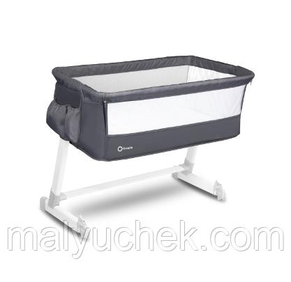 Приставная кроватка Lionelo Theo Dark Grey LO.TH02
