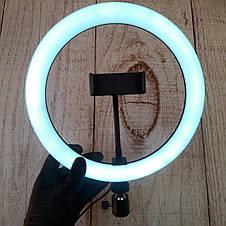 Селфи лампа Led кольцо 26см, фото 3