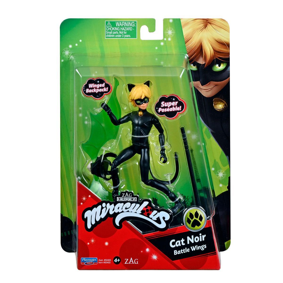 Маленькая Кукла-мальчик Леди Баг и Супер-Кот S2 - Супер Кот 13 см Miraculous Small Doll Cat Noir 50403