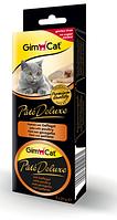 Консервы Gimpet Pate Deluxe для кошек, с телятиной, 3х21г