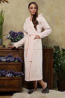 Нежный мягкий халат с капюшоном, фото 1
