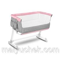 Приставная кроватка Lionelo Theo Concret LO.TH04