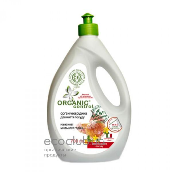 Жидкость для мытья посуды на основе мыльного ореха органическая Organic Control 700мл
