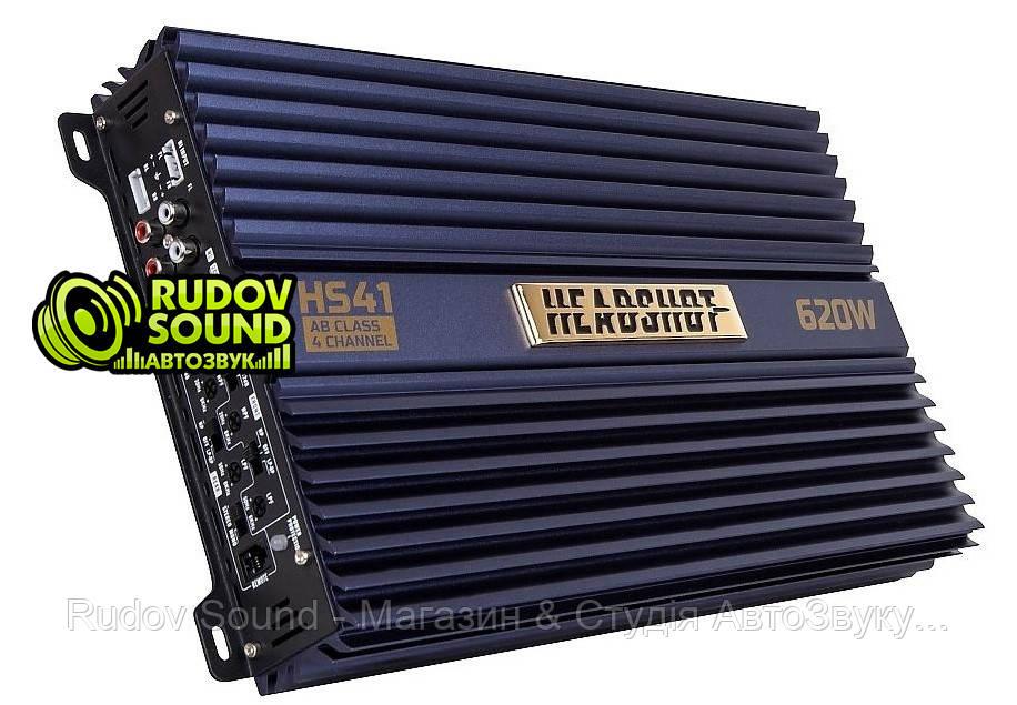Kicx HeadShot HS 41 усилитель 4-х канальный 105w 4 Ом / 155w 2 Ом