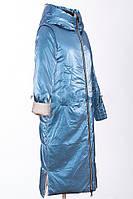 Модний двосторонній пуховик Mishele 21130, зима 2020-2021 44-54, фото 1