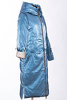 Модный двусторонний пуховик Mishele 21130, зима 2020-2021 44-54
