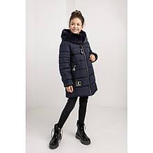 Детская куртка Леся на зиму с мехом